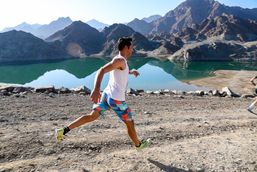 2xu triathlon hatta reservoir runner
