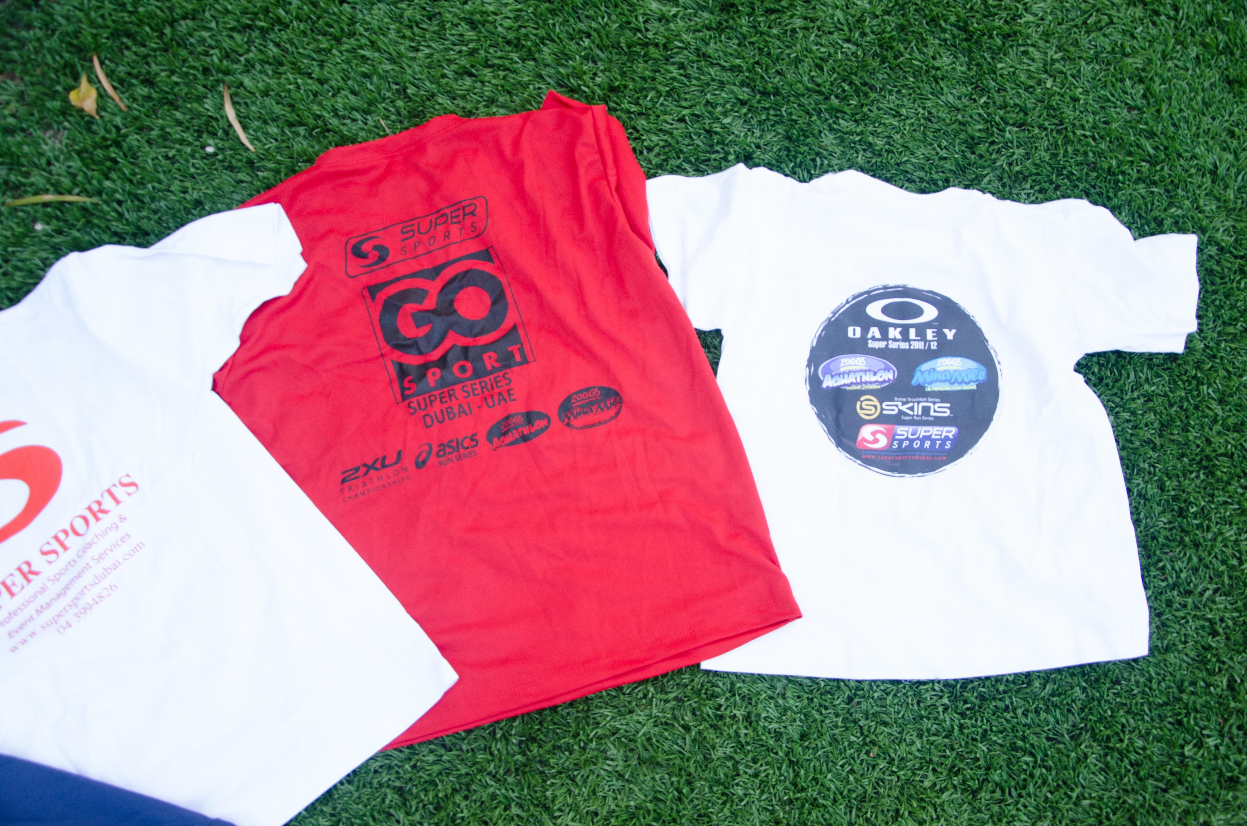 finishers Tshirt 3 race merchandise